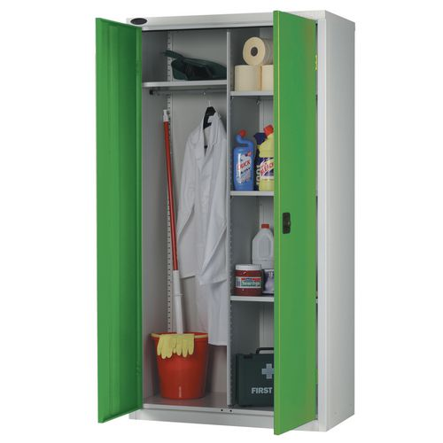 Cupboard Wardrobe Colour Green