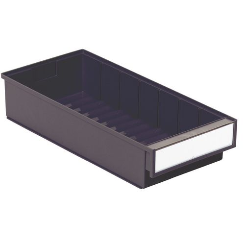 Grey Bin For 8 Drw 400 Series Cabinet Pack Of 15