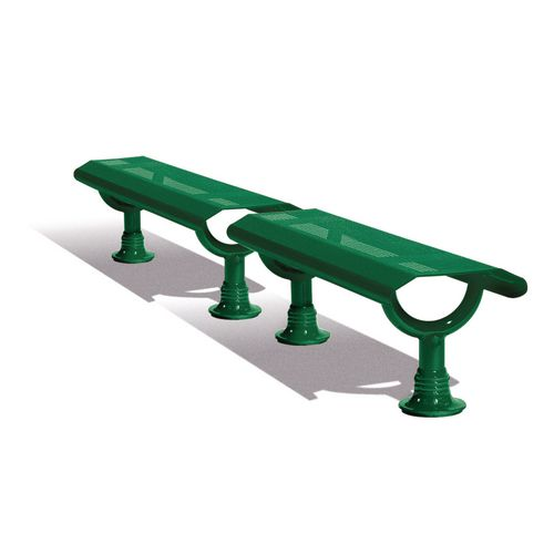 Oslo Bench Green