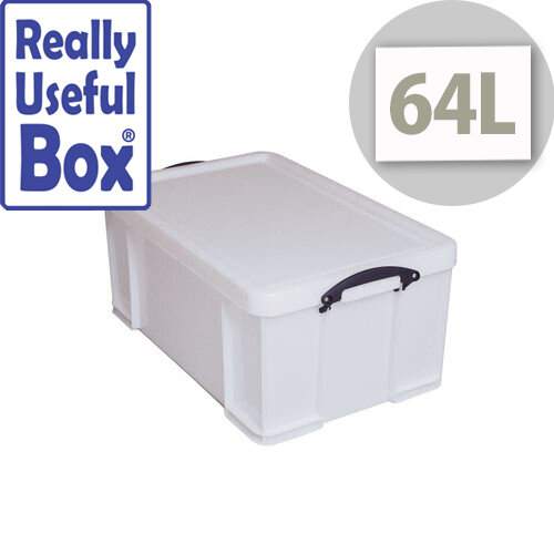 Really Useful Box 64 Litre Extra Strong With Lid