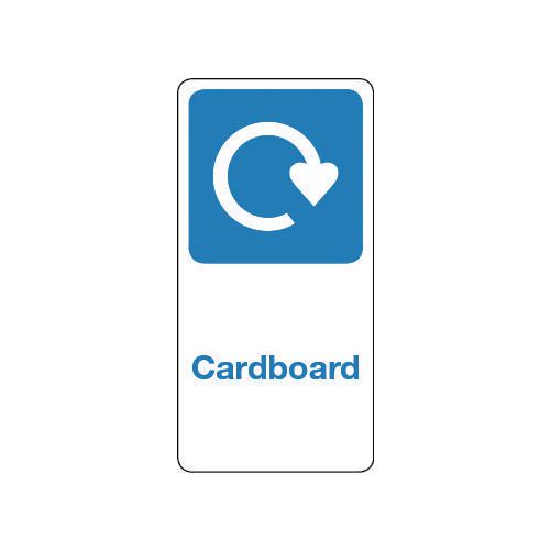 Sign Cardboard Vinyl Roll Of 1000  HxW: 100x50