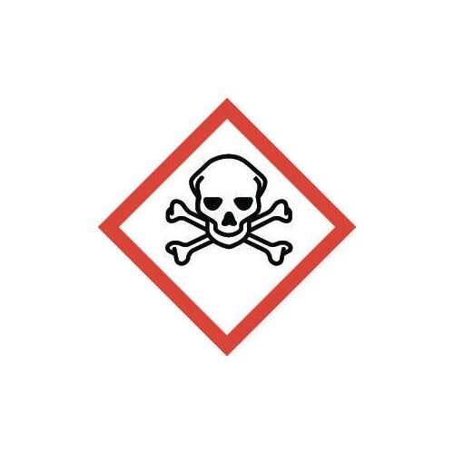 Sign Toxic Vinyl Strip Of 100  HxW: 46x46