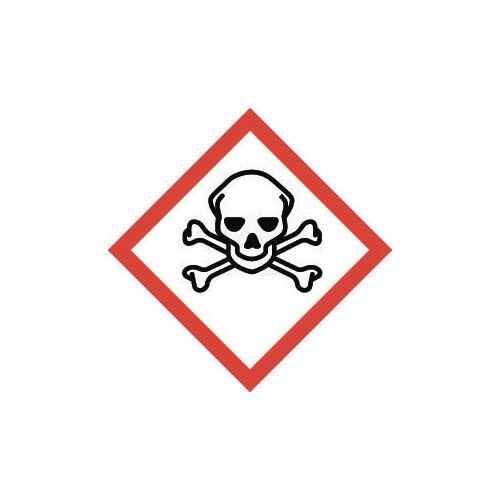 Sign Toxic Vinyl Strip Of 20  HxW: 46x46