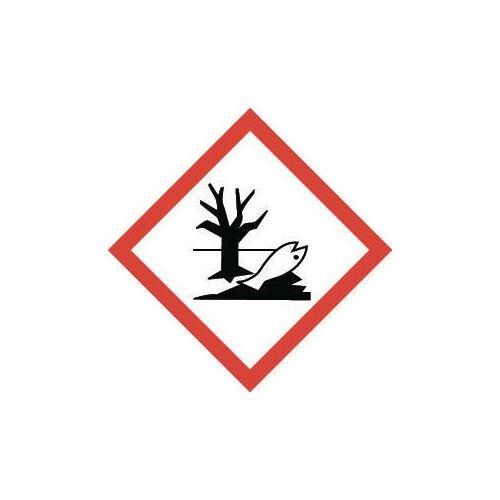 Sign Hazardous To Environment Vinyl Strip Of 100  HxW: 46x46