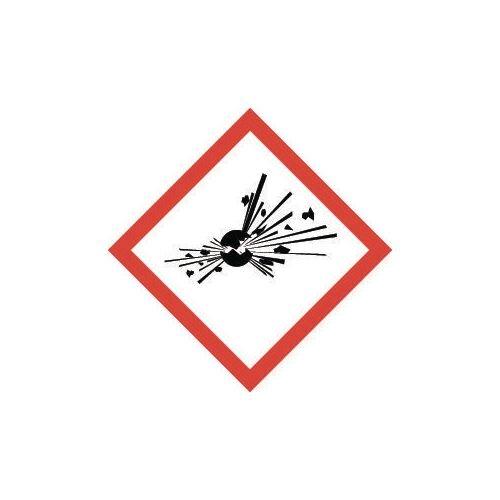 Sign Explosive Vinyl Strip Of 20  HxW: 46x46