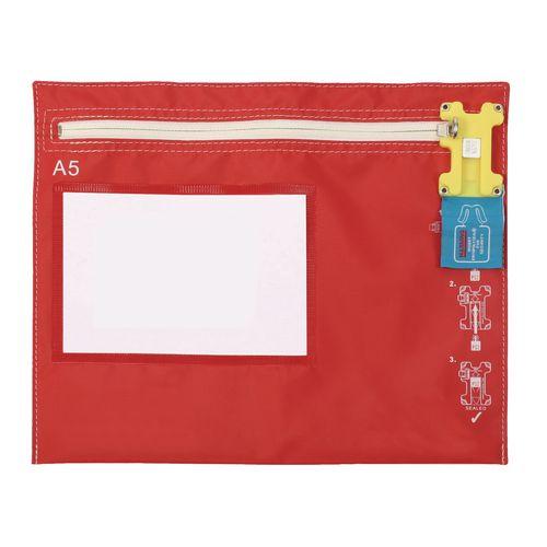 A5 Flat Litre Modular Envopak Red