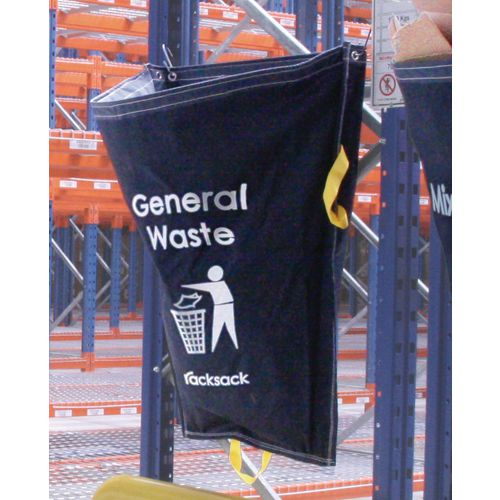 General Waste Blue Racksack