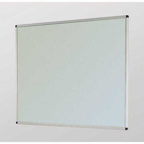 Aluminum Frame Noticeboard 900x600mm Silver Frame Grey Board