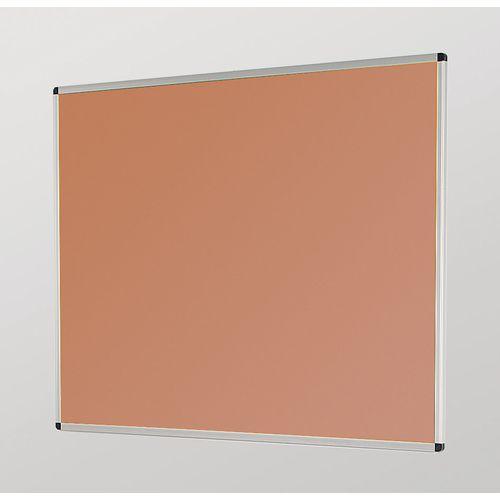 Aluminum Frame Noticeboard 900x600mm Silver Frame Cork Board