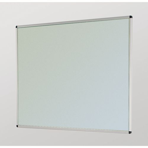 Aluminum Frame Noticeboard 1200x900mm Silver Frame Grey Board