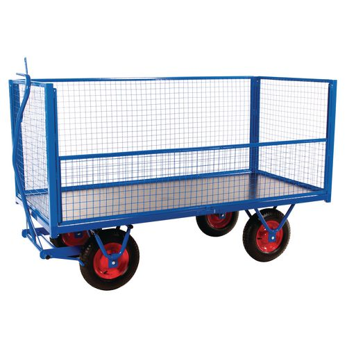 Mesh Ends And Sides To Suit Turntable Truck 376614