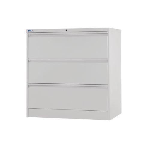 Side Filer Unit 1009H 1003W 507D Silver Ral 9006