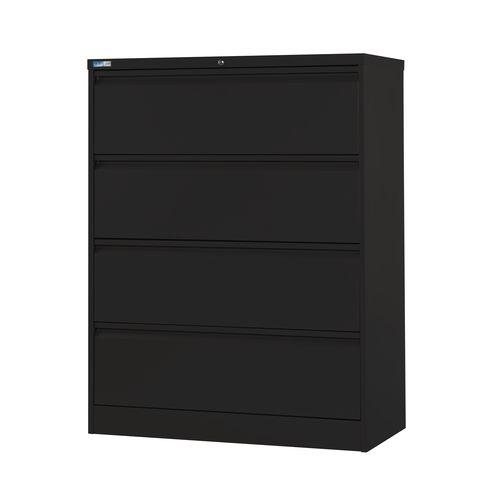 Side Filer Unit 1320H 1003W 507D Black
