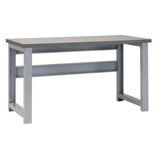 Premier 2 Workbench 2000(L)x700(W)x840(H) Grey Lino Worktop