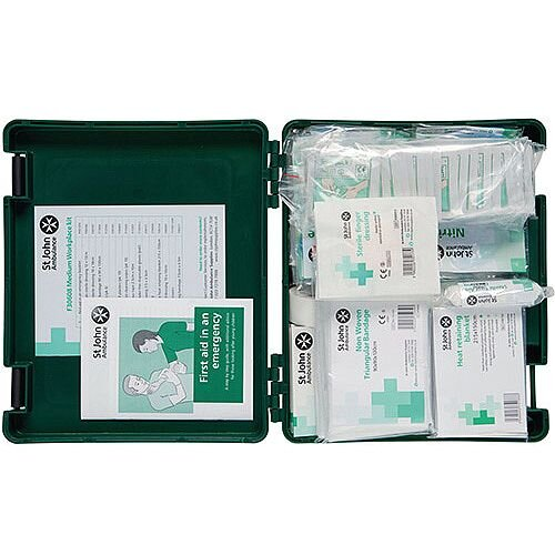 First Aid Standard Workplace Kit Medium Up to 20 Person Bs-8599-1