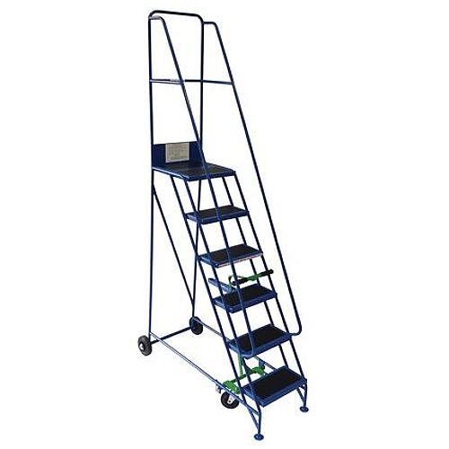 Narrow Aisle Warehouse Step Max Height 2.5M Platform Height 1.5M 6 Treads Capacity 300kg
