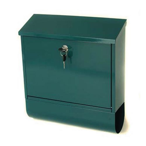 Post Box Tees Green Steel HxWxD(mm): 410x365x110