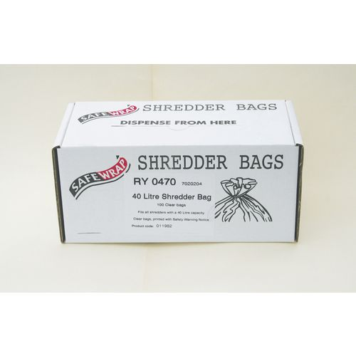 Swrap 100 40 Litre Shredder Bag