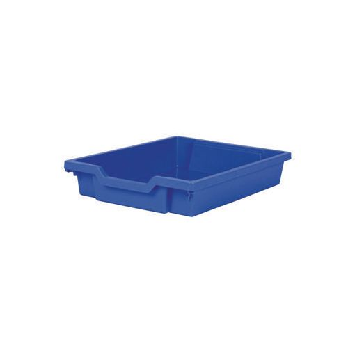 Blue Shallow Tray