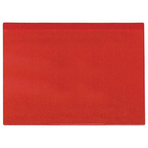 Self-Adhesive Red Document Pocket Id 215X310mm