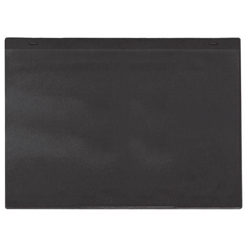 Self-Adhesive Black Document Pocket Id 155X230mm