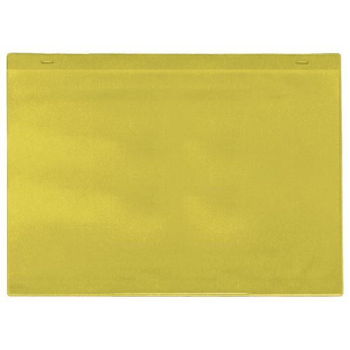 Magnetic Yellow Document Pocket Id 155X230mm