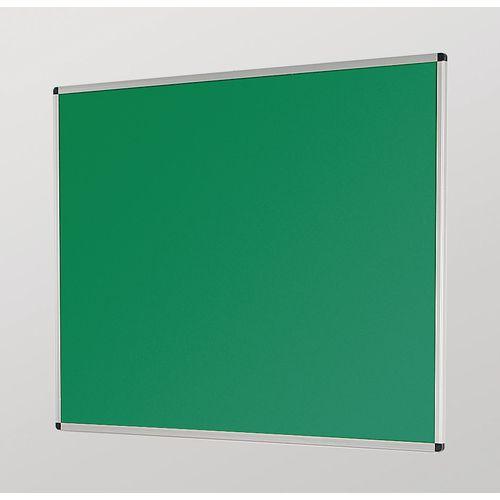 Aluminium Framed Noticeboards 1200X1500 Green Board
