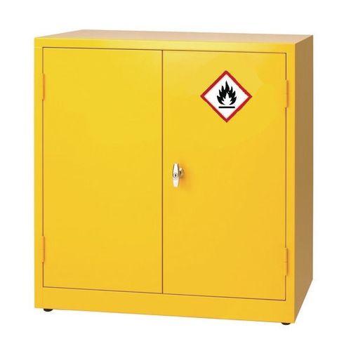 88F994Stock 915x915x459 Yellow Supplied With 1 Shelf