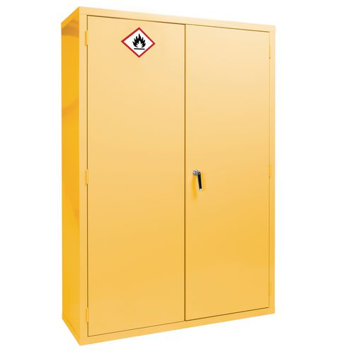 88F824 1830x1220x459 Yellow Supplied With 3 Shelves