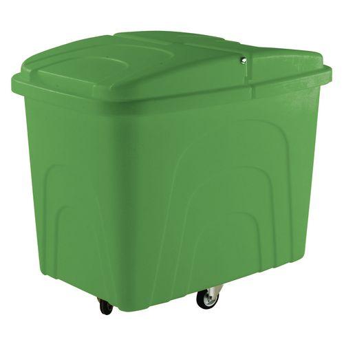 Truck Zinc Base Diamond Wheeling Green With Lid