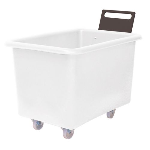 Truck Food 914X610X610mm With Handle White Plast.Base 2F+2Swx102mm Ny+Tg