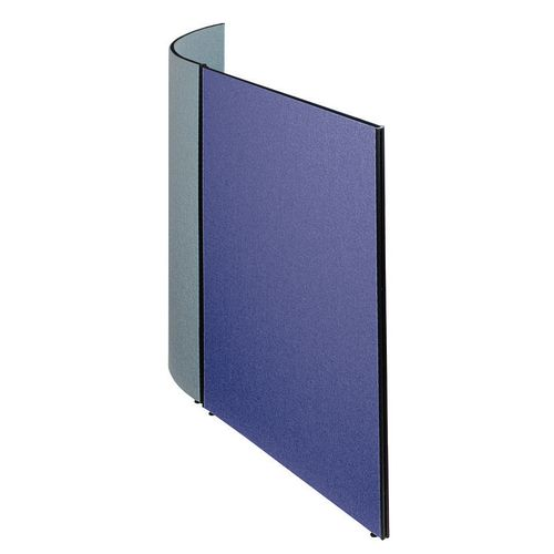 Busyscreen Partition System Flat Screen W1200xH1825mm Royal Blue
