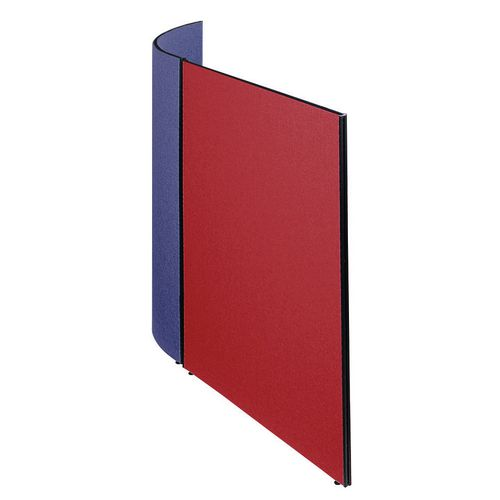 Busyscreen Partition System Flat Screen W1200xH1825mm Tummel Burgundy