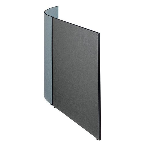 Busyscreen Partition System Flat Screen W1200xH1825mm Merrick Dark Grey