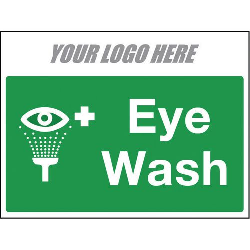 Sign Eye Wash 800X600mm 4mm Correx