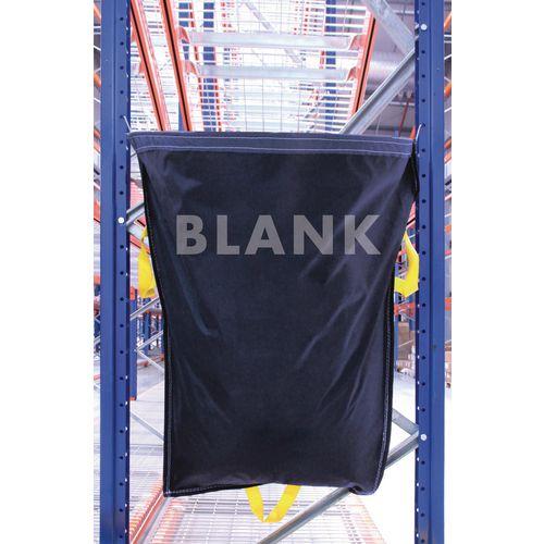 Blank Blue Waste Racksack Pack of 5