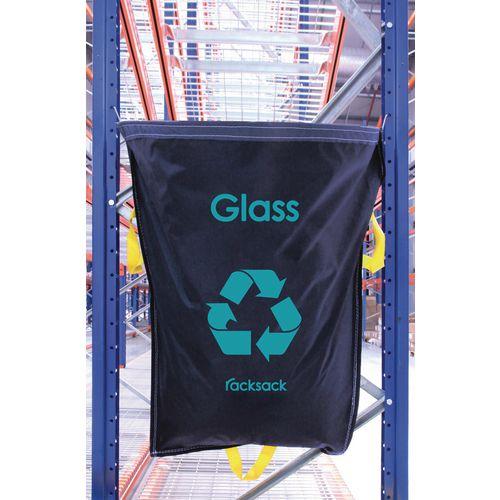 Glass Waste Blue Racksack Pack of 10