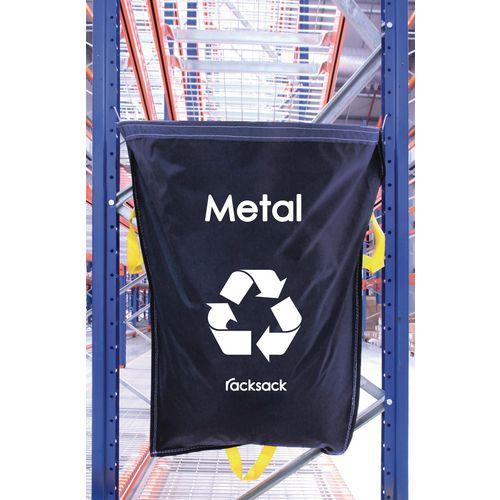 Metal Waste Blue Racksack Pack of 5