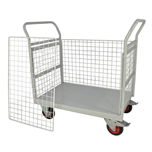 Mailroom Trolley With Full Side 830.600.1200