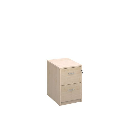 Filing Cabinet 2 Drawer Maple Classic Furniture