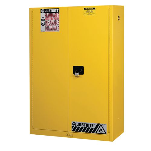 Sure-Grip Ex Slimline Safety Cabinet 170L Cap. 2 Manual Closing Doors. 2 Shelves. 2 Dual Air Vent