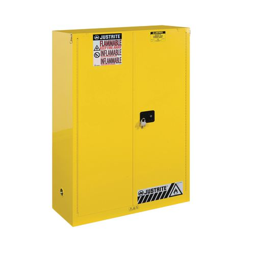 Sure-Grip Ex Slimline Safety Cabinet 170L Cap. 2 Self Closing Doors. 2 Shelves. 2 Dual Air Vents
