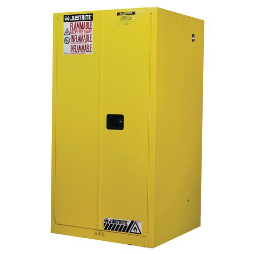 Sure-Grip Ex Slimline Safety Cabinet 227L Cap. 2 Manual Closing Doors. 2 Shelves. 2 Dual Air Vent