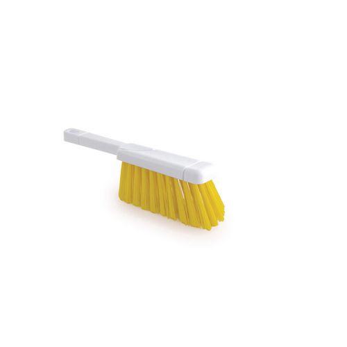 Stiff Yellow Pvc Bristle Hygiene Hand Brush