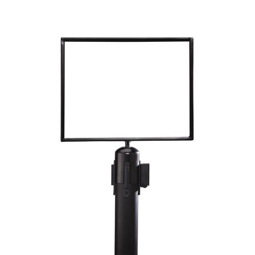 Standard A3 Sign Frame Black Portrait