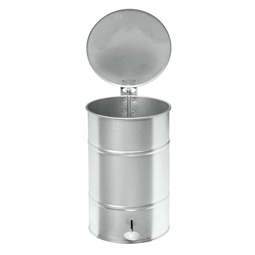 Waste Bin Blue 630 X 415 X 415mm With Foot Pedal For Easy Opening