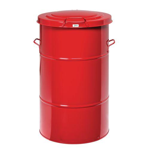 Waste Bin Red 805 X 490 X 490mm