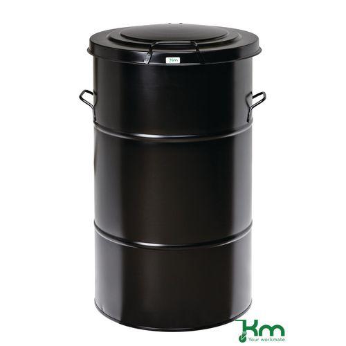Waste Bin Black 805 X 490 X 490mm