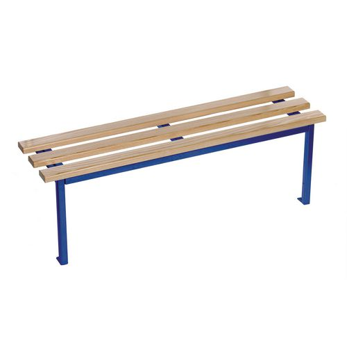 Evolve Mono Bench 2000x350mm 2 Legs Blue