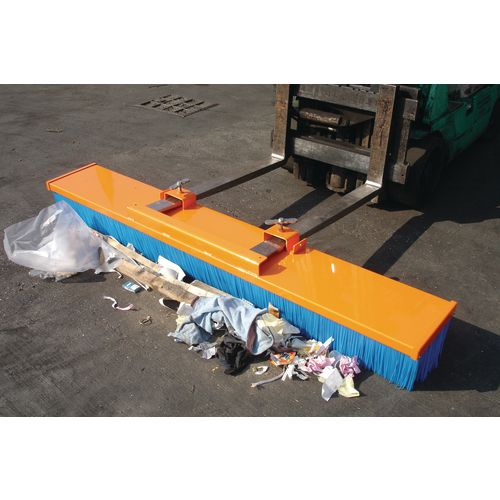 Fork Mounted Sweeper 2450mm Wide